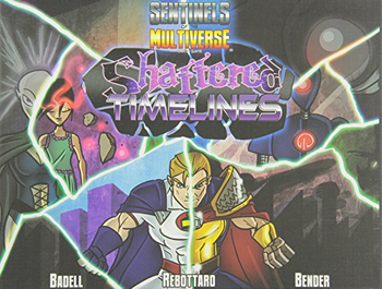 Sentinels of the Multiverse: Shattered Timelines board game