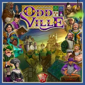 OddVille board game
