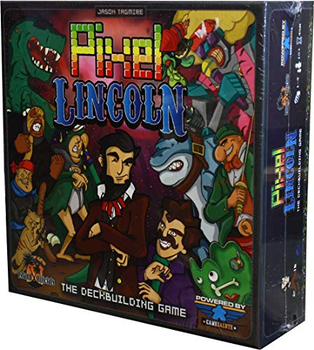 Pixel Lincoln: The Deckbuilding Game board game