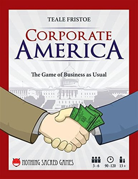 Corporate America Game board game