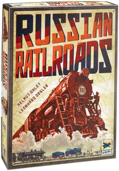 Russian Railroads board game