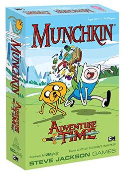 Munchkin Adventure Time board game