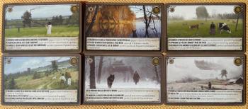 Scythe: Bonus Promo Pack - 6 Promo Encounter Cards numbers 37-42