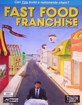 Fast Food Franchise board game