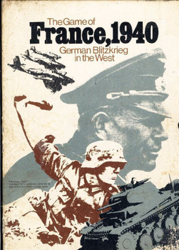 The Game of France, 1940: German Blitzkrieg in the West board game