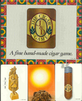 The Cigar Game board game