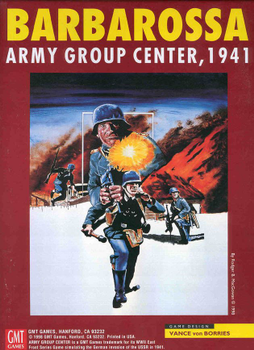 Barbarossa: Army Group Center, 1941, 2nd Edition board game
