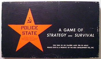 Police State board game