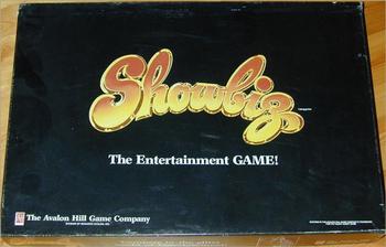 Showbiz board game