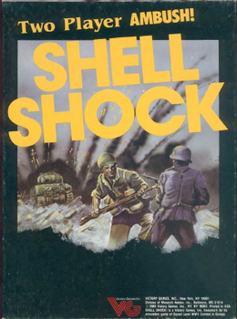 Shell Shock! board game