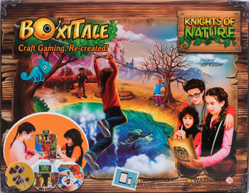 BoxiTale: Knights of Nature board game