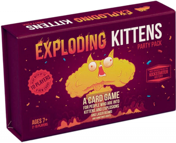 Exploding Kittens: Party Pack board game