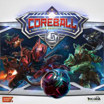 CoreBall: The Zero Gravity Sport board game
