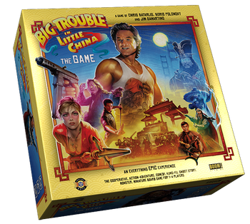 Big Trouble in Little China: The Game - Deluxe Edition board game