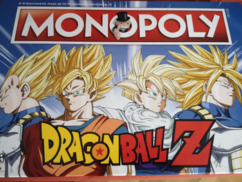 Monopoly: Dragon Ball Z board game