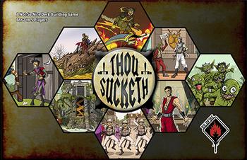 Thou Sucketh board game