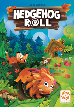 Hedgehog Roll board game