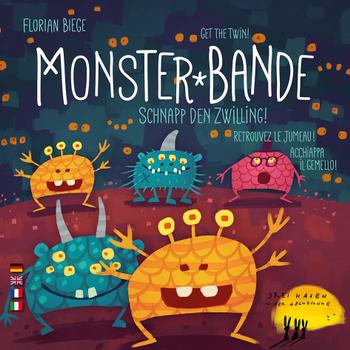 Monster-Bande board game
