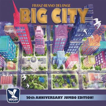 Big City: 20th Anniversary Jumbo Edition! board game