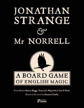 Jonathan Strange & Mr Norrell: A Board Game of English Magic board game