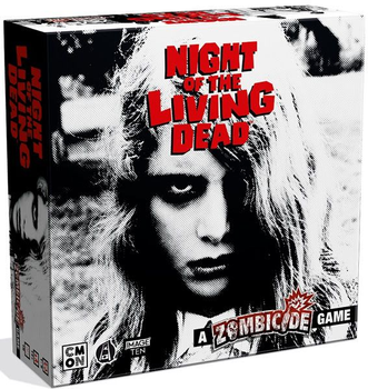Night of the Living Dead: A Zombicide Game board game