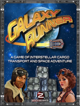 Galaxy Runner board game