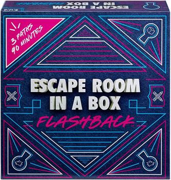 Escape Room In A Box: Flashback board game