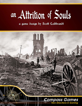 An Attrition of Souls board game
