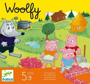 Woolfy board game