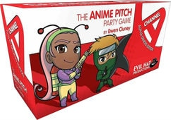 Channel A: The Anime Pitch Party Game - Alpha Genesis Edition board game