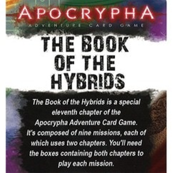 Apocrypha Adventure Card Game: The Book of the Hybrids board game