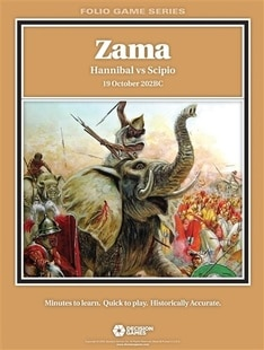 Zama: Hannibal vs Scipio board game