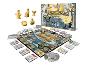 Python-opoly: Monty Python and the Holy Grail Version (2nd Edition) board game