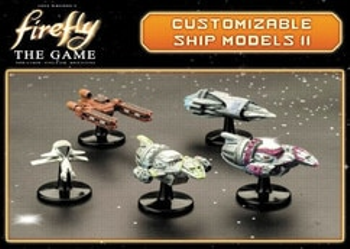 Firefly: The Game - Customizable Ship Models II