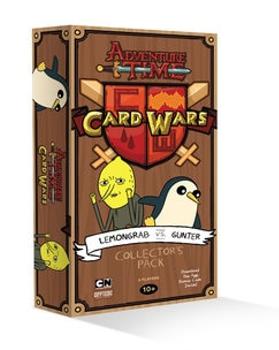 Adventure Time Card Wars: Lemongrab vs Gunter Collector's Pack board game