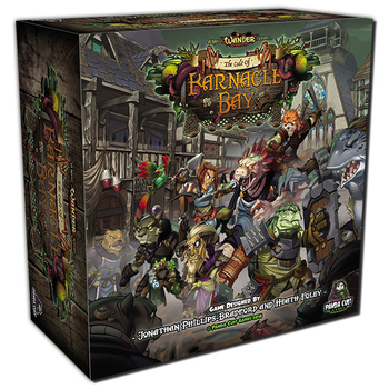 Wander: The Cult of Barnacle Bay board game