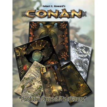 Conan RPG: Forbidden Places & Pits of Horror Tile Set board game