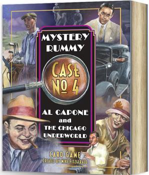 Mystery Rummy: Al Capone and the Chicago Underworld board game