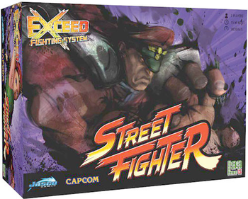 Exceed: Street Fighter - M. Bison Box board game