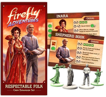 Firefly Adventures: Respectable Folk Expansion board game