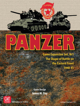 Panzer: Game Expansion Set, Nr 1 – The Shape of Battle on the Eastern Front 1943-45 board game