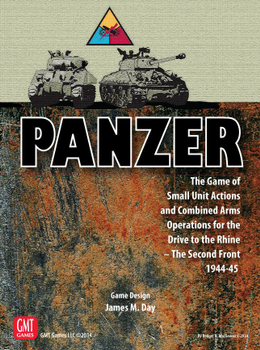 Panzer: Expansion 3 - Drive to the Rhine: The Second Front 1944-45 board game
