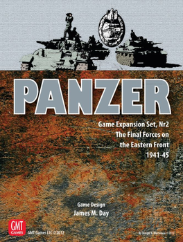 Panzer: Game Expansion Set, Nr 2 – The Final Forces on the Eastern Front 1941-44 board game