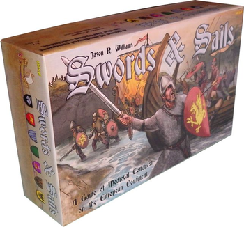 Swords & Sails, Rewrite History in 1000 AD board game