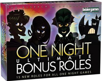 One Night Ultimate Bonus Roles board game