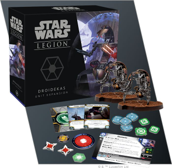 Star Wars: Legion - Droidekas Unit Expansion board game