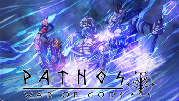Pathos: War of Gods The Tabletop Roleplaying Game board game