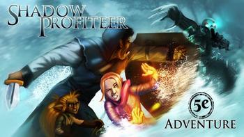 The Shadow Profiteer board game