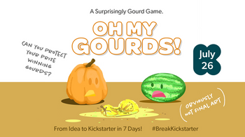 Oh My Gourds! board game