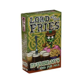 Lord of the Fries: McPubihan's Irish Pub Deck board game